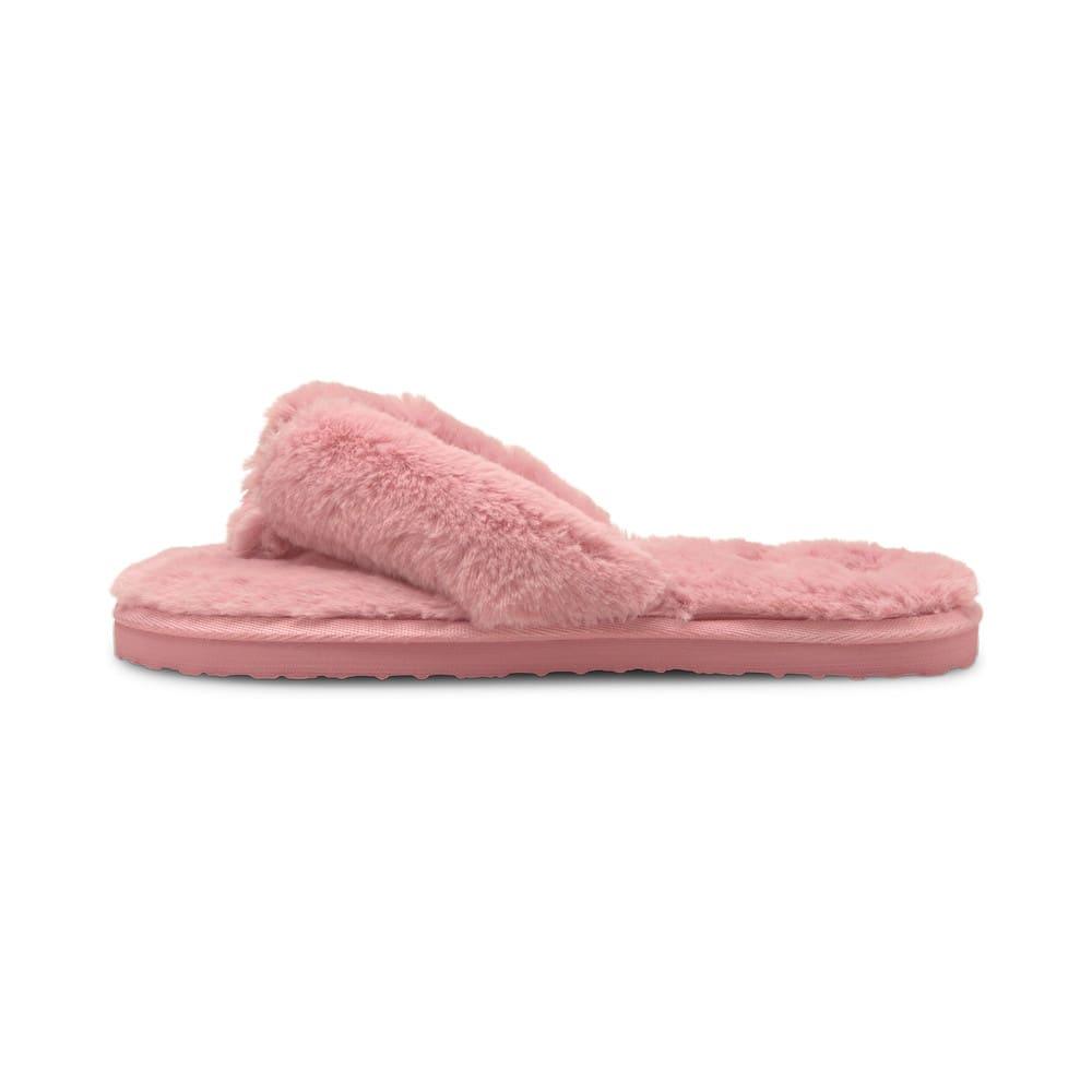 Изображение Puma Шлепанцы Puma Fluff Flip Women's Shoes #1: Lotus-Puma White