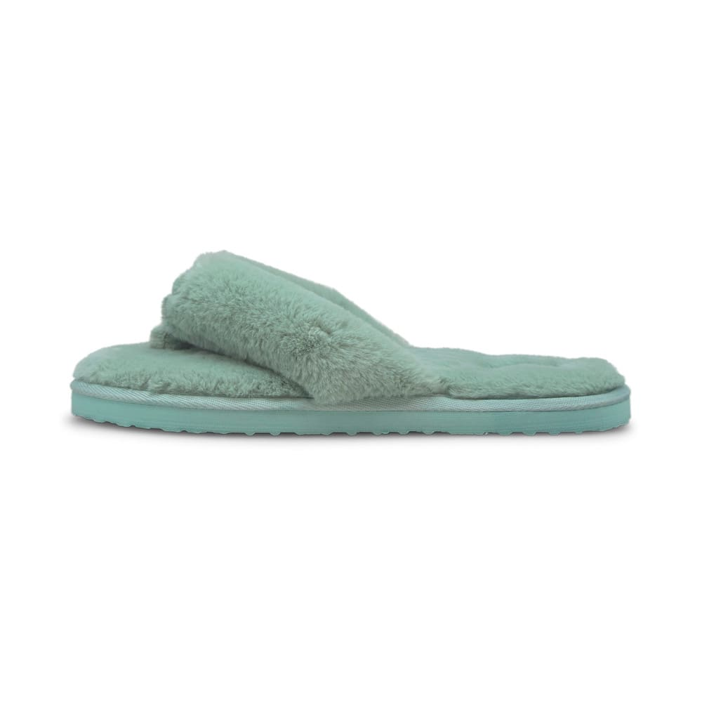 Зображення Puma Шльопанці Puma Fluff Flip Women's Shoes #1: Eggshell Blue-Puma White