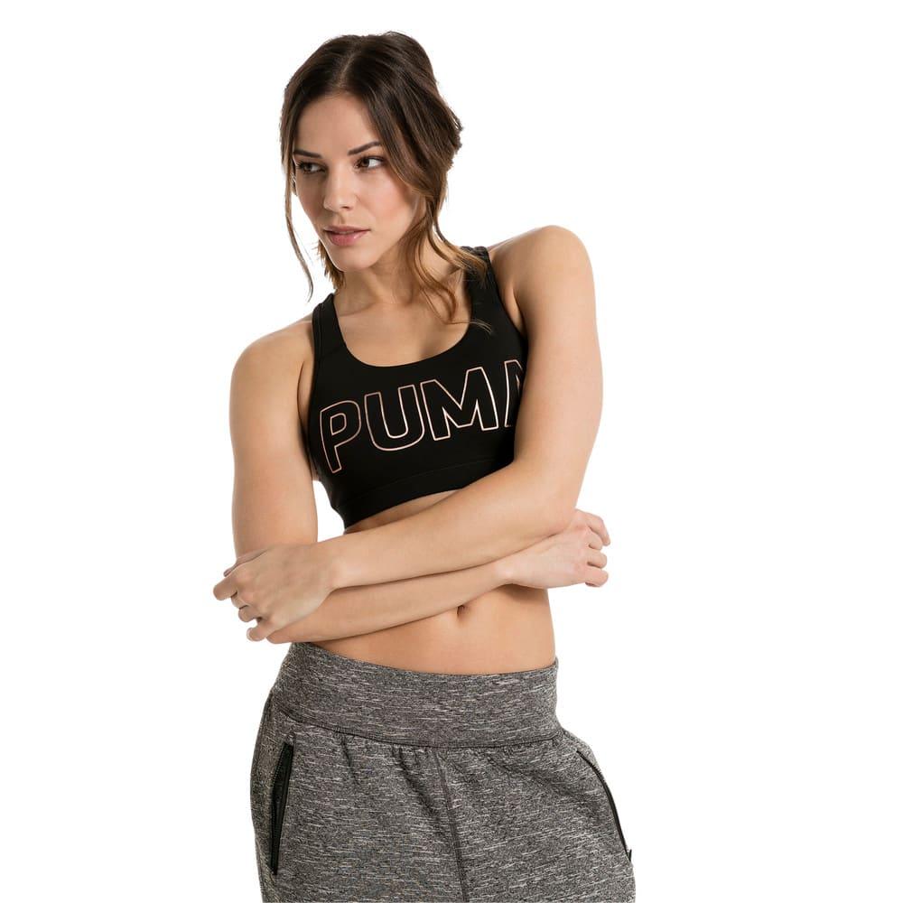 Görüntü Puma TRAINING PWRSHAPE Forever Logo Kadın Spor Sütyeni #1