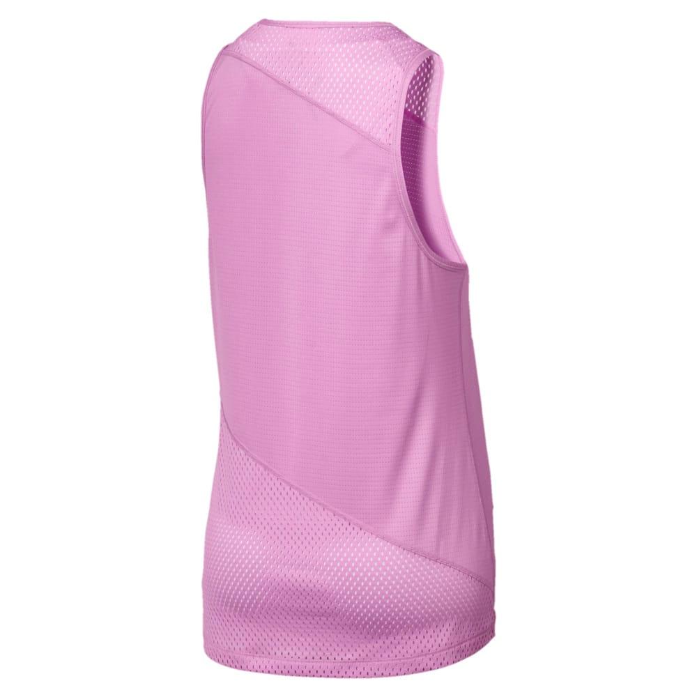 Imagen PUMA Top sin mangas con pieza de malla A.C.E. para mujer #2