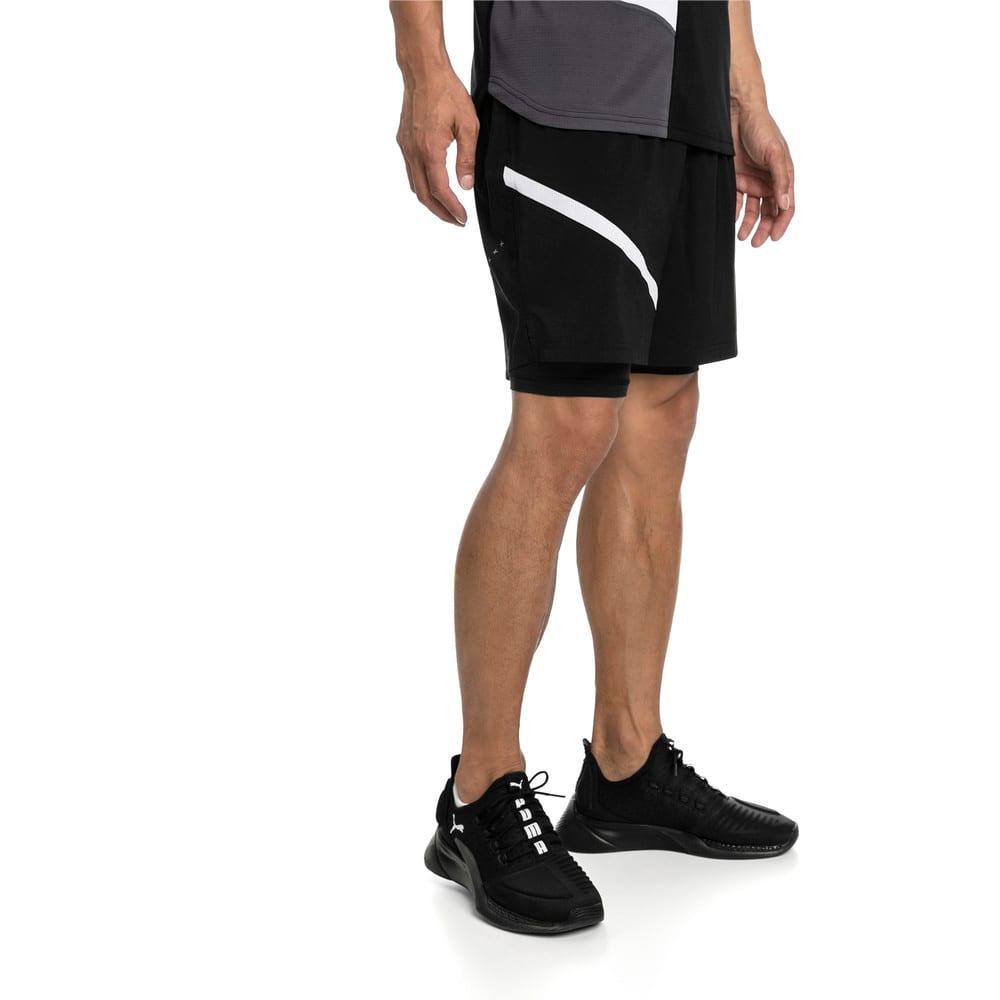Imagen PUMA Shorts de running de malla tejida 2 en 1 Ignite para hombre #1