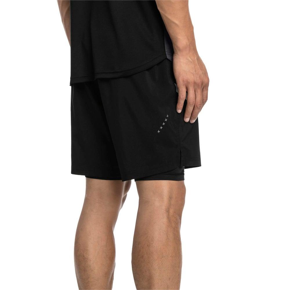 Imagen PUMA Shorts de running de malla tejida 2 en 1 Ignite para hombre #2
