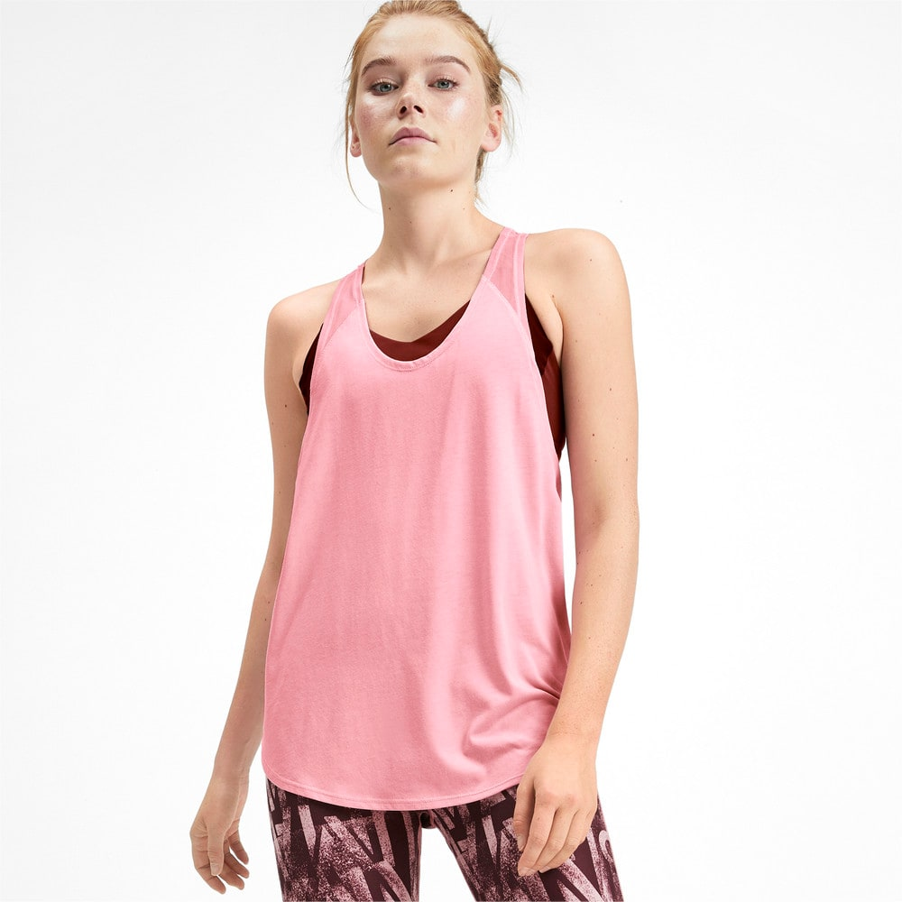 Изображение Puma Майка Studio Mesh Women's Training Tank Top #1