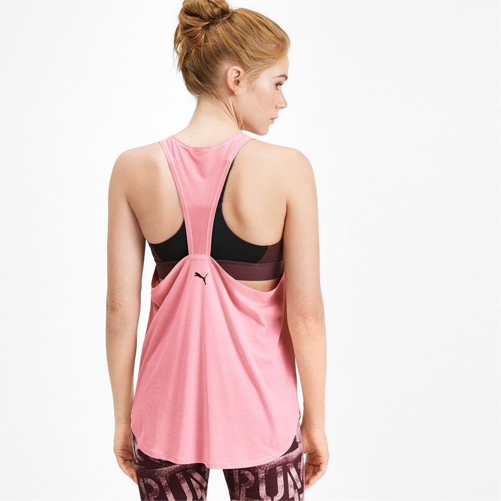 Изображение Puma Майка Studio Mesh Women's Training Tank Top #2
