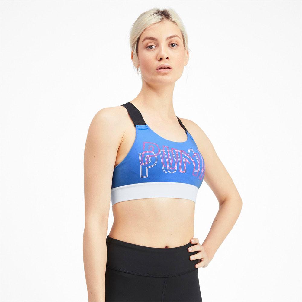 Зображення Puma Бра Feel It Bra M #1: Blue Glimmer
