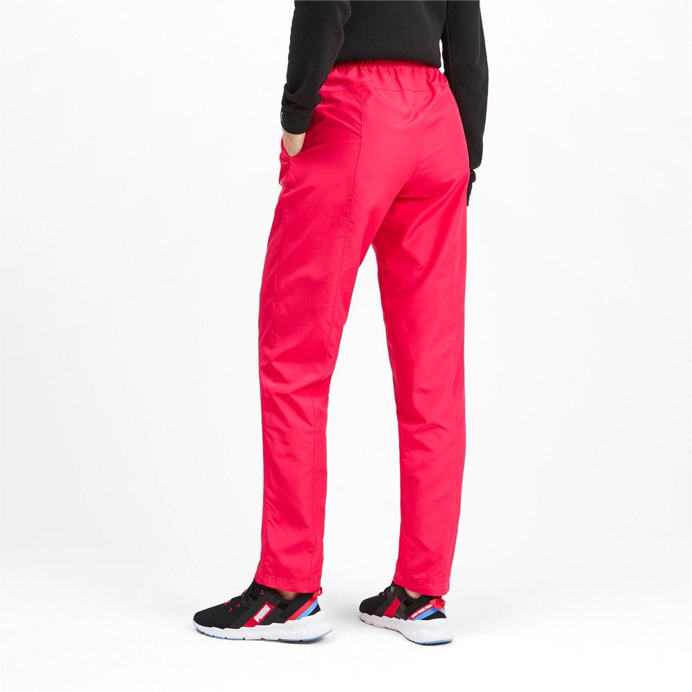 Image Puma Woven Warm Up Knitted Women's Training Pants #2