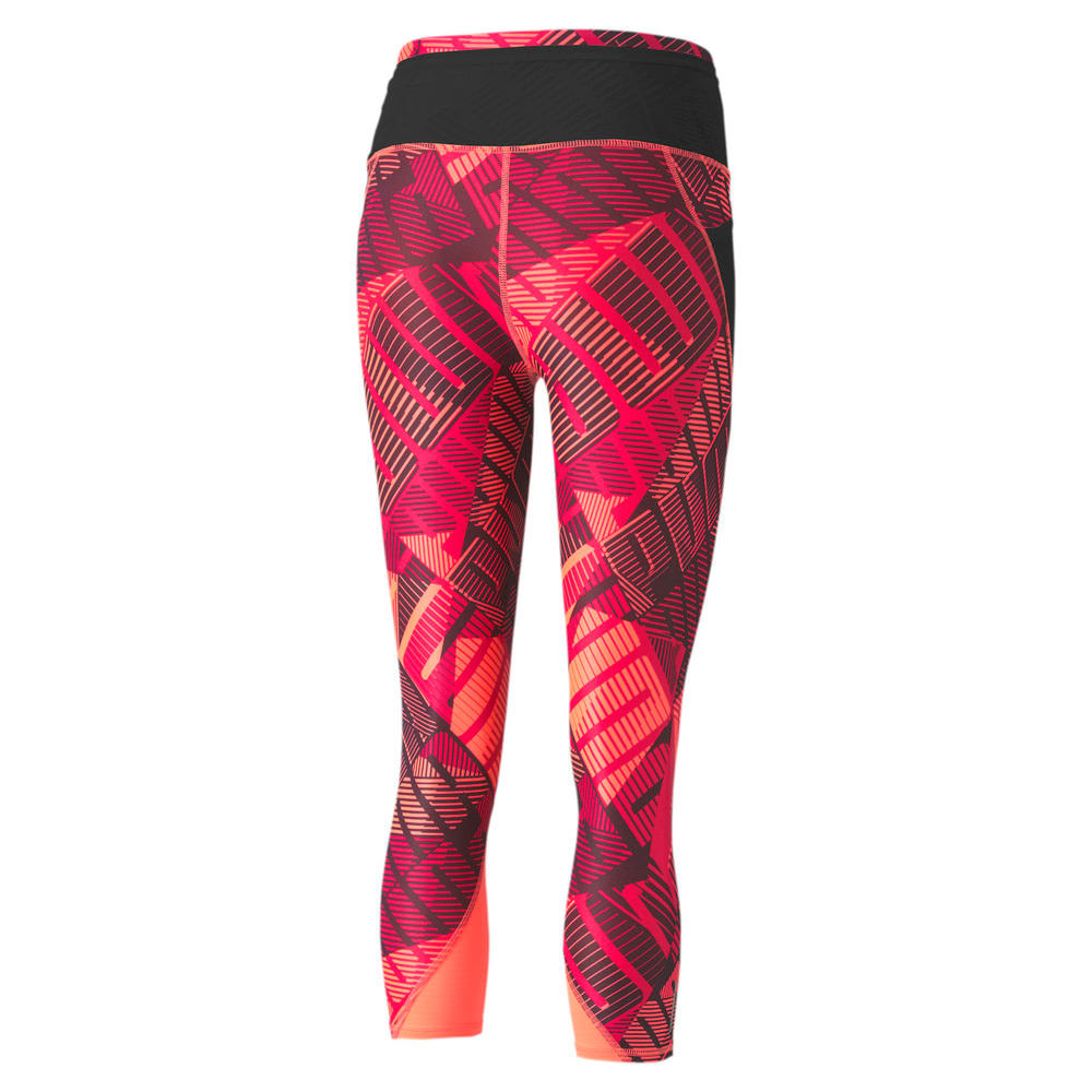 Image Puma Be Bold All-Over Print 3/4 Women's Training Tights #2