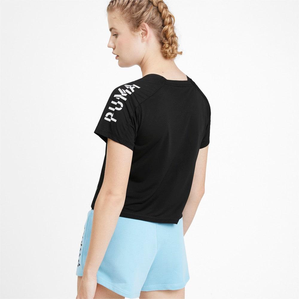 Görüntü Puma Kısa Kesim Kadın Antrenman T-Shirt #2