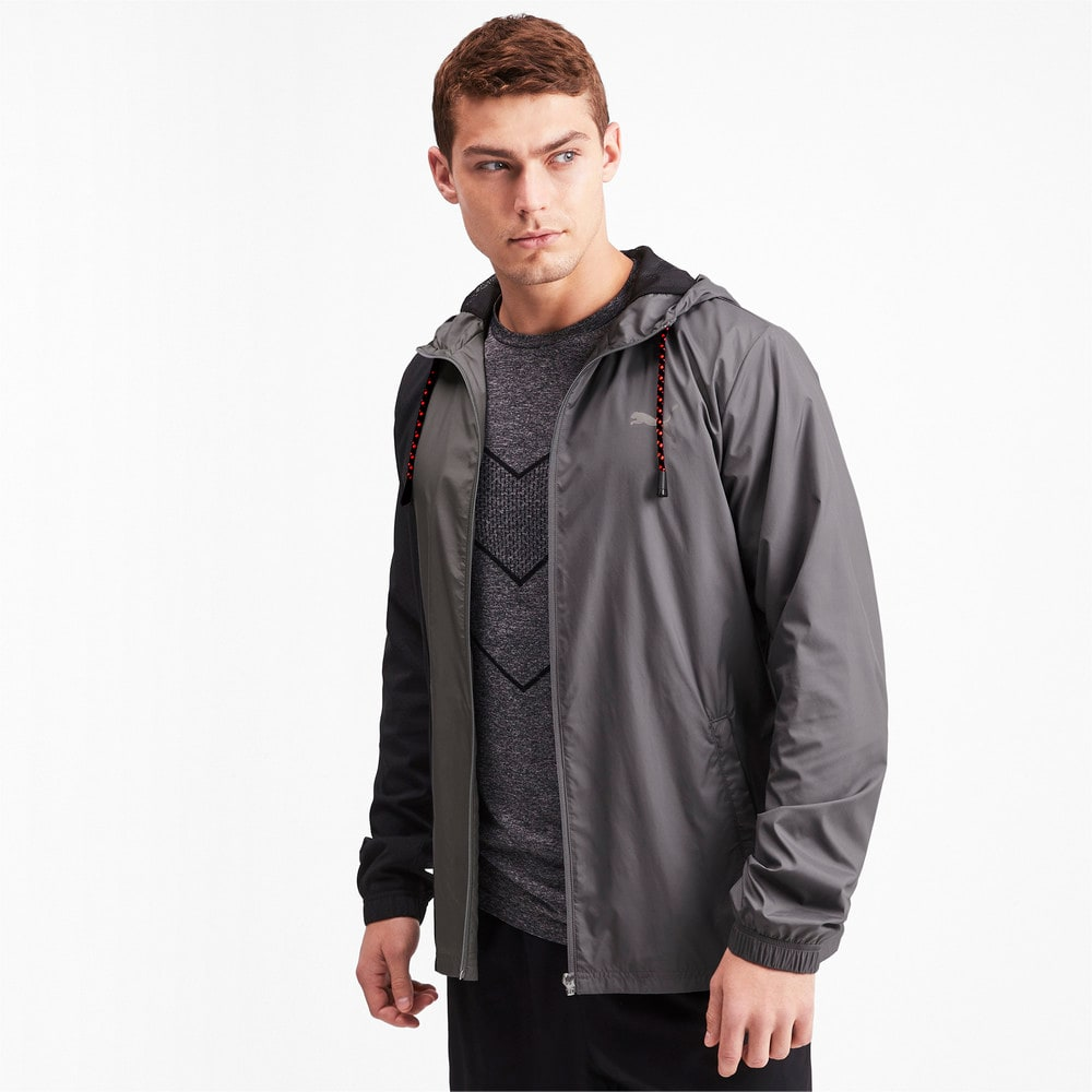 Image Puma Collective Woven Hooded Men's Training Jacket #1