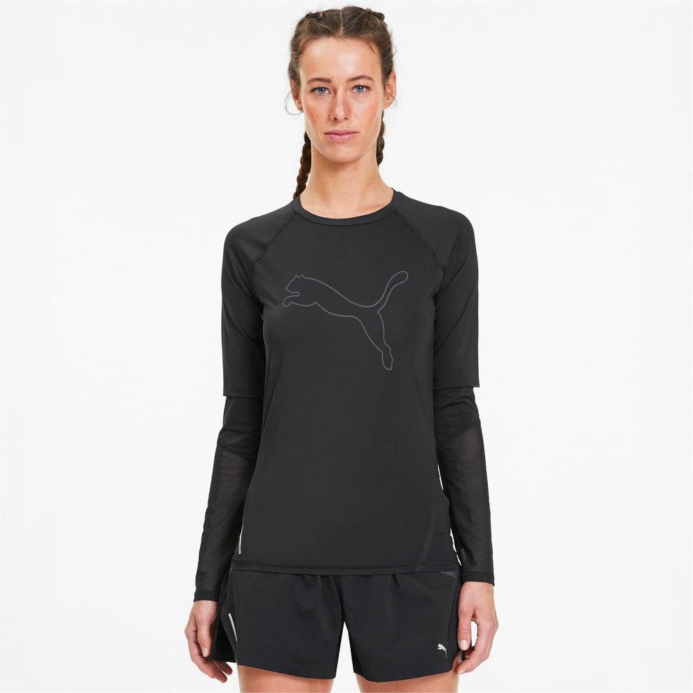 Image Puma Runner ID Long Sleeve Women's Running Tee #1