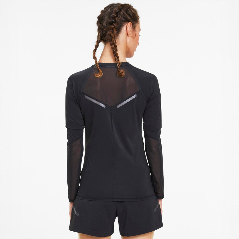 Image Puma Runner ID Long Sleeve Women's Running Tee #2
