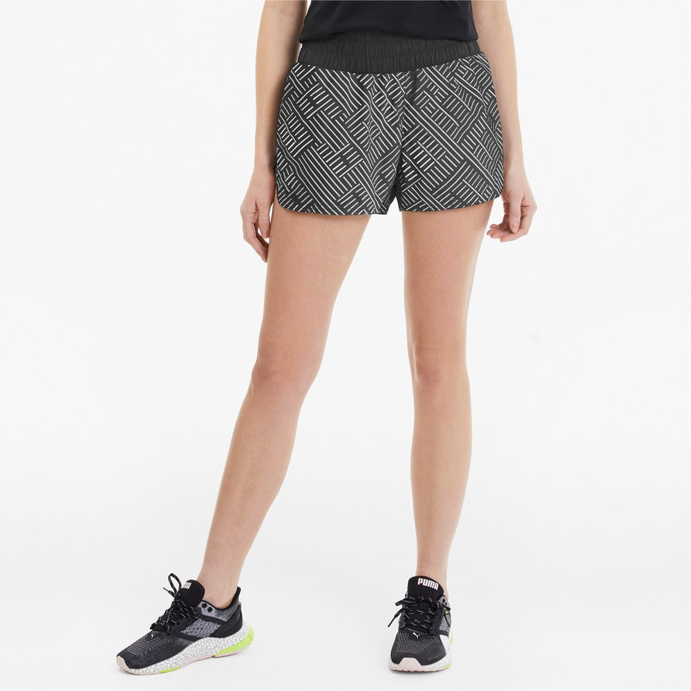 Imagen PUMA Shorts de training Last Lap Graphic 8 cm para mujer #1