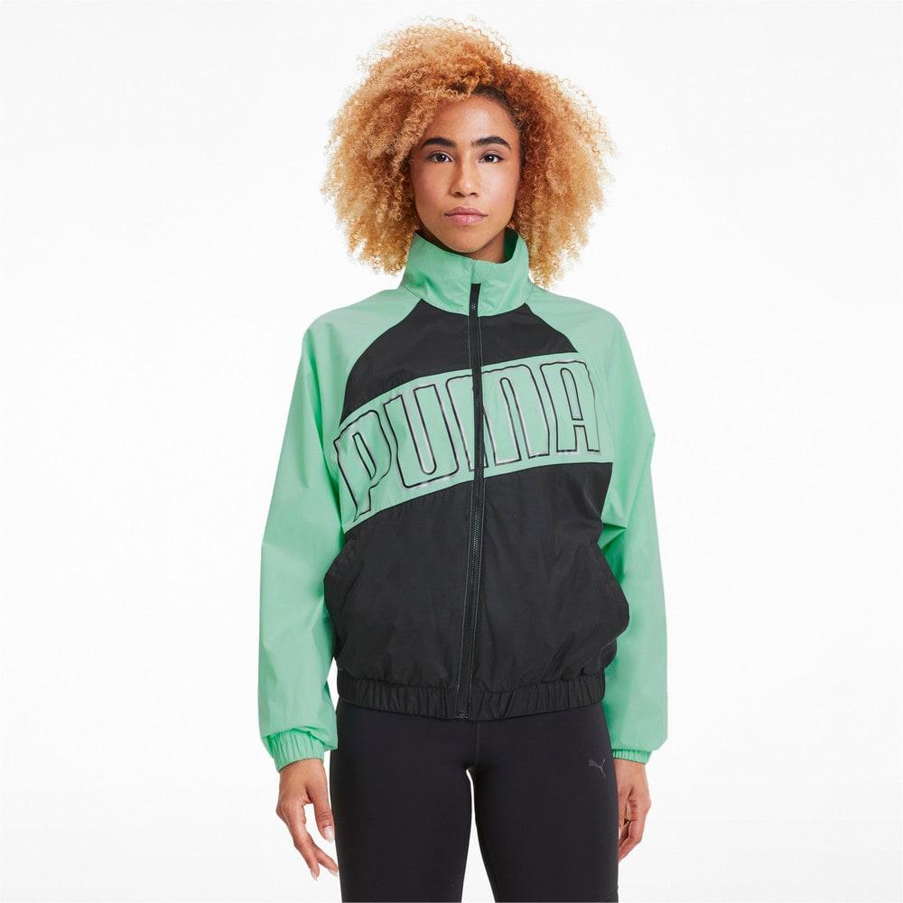 Image Puma Feel It Woven Windbreaker Women's Training Jacket #1
