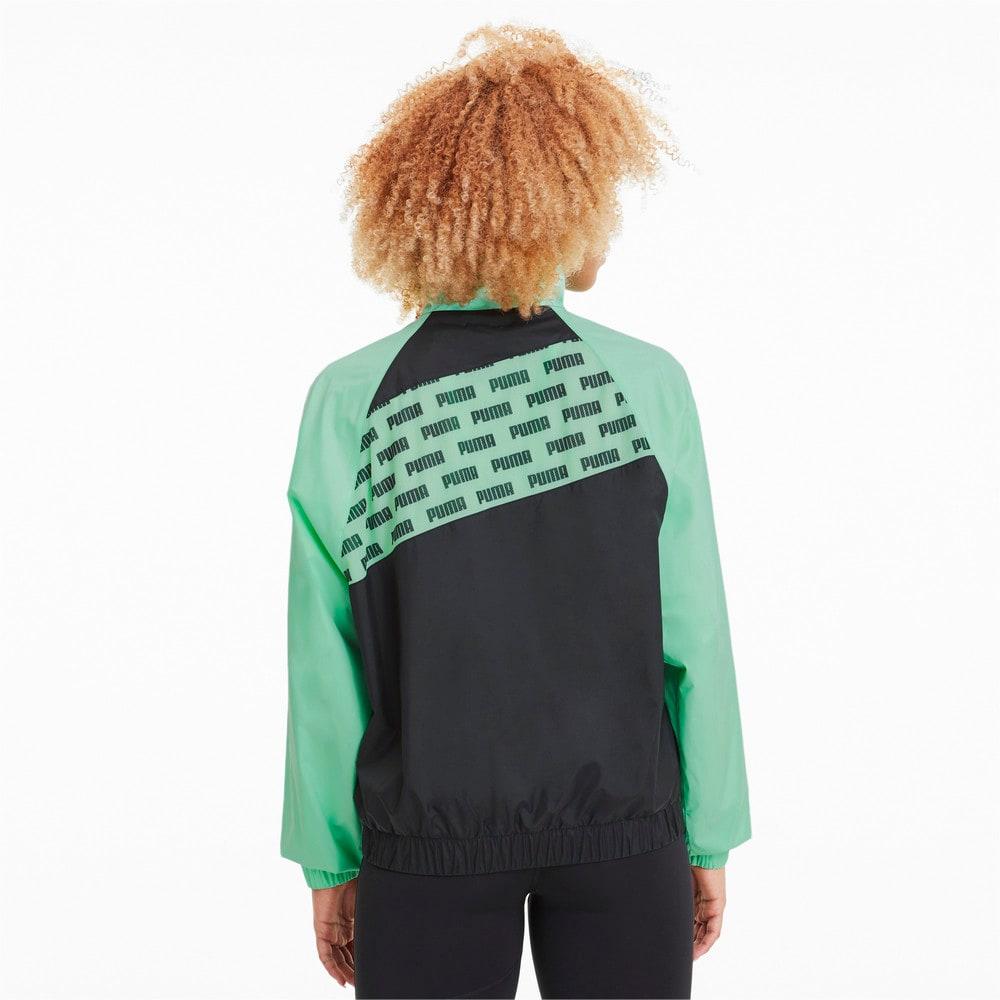 Image Puma Feel It Woven Windbreaker Women's Training Jacket #2