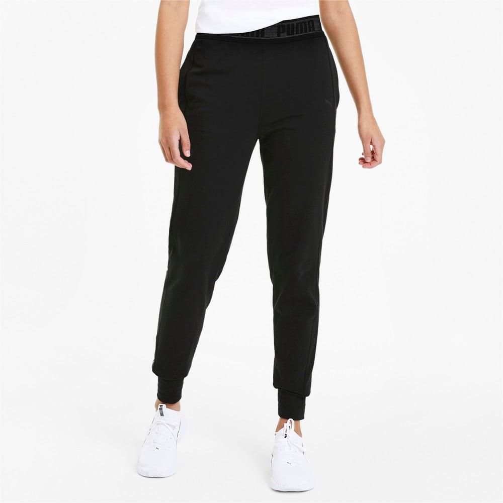 Image Puma Logo Women's Training Sweatpants #1
