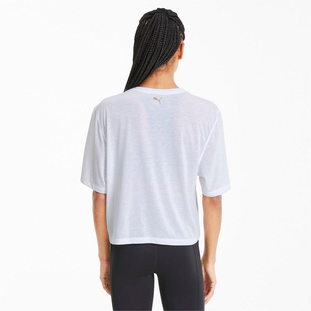 Görüntü Puma Metal Splash Desenli Antrenman Kadın T-Shirt #2