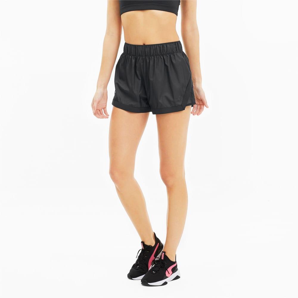 Изображение Puma Шорты Be Bold Woven Women's Training Shorts #1