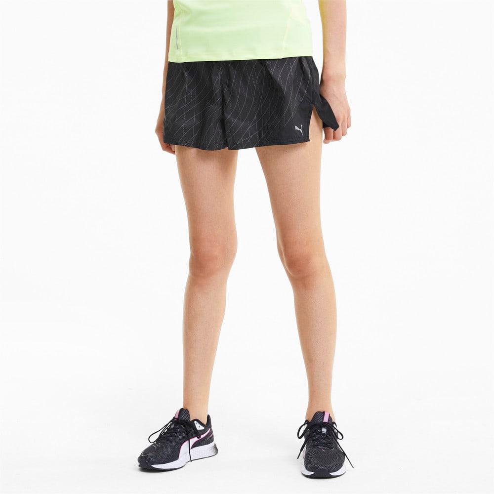 Imagen PUMA Shorts de running Graphic de 8 cm para mujer #1