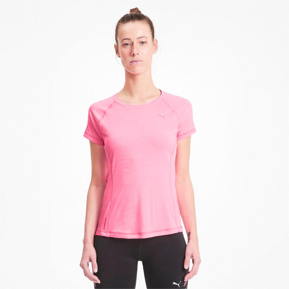 Görüntü Puma Runner ID FITTED Kısa Kollu Kadın Koşu T-shirt #1