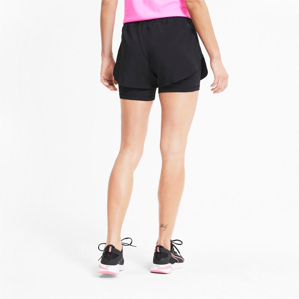 Imagen PUMA Shorts de running 2 en 1 Favourite Woven de 8 cm para mujer #2
