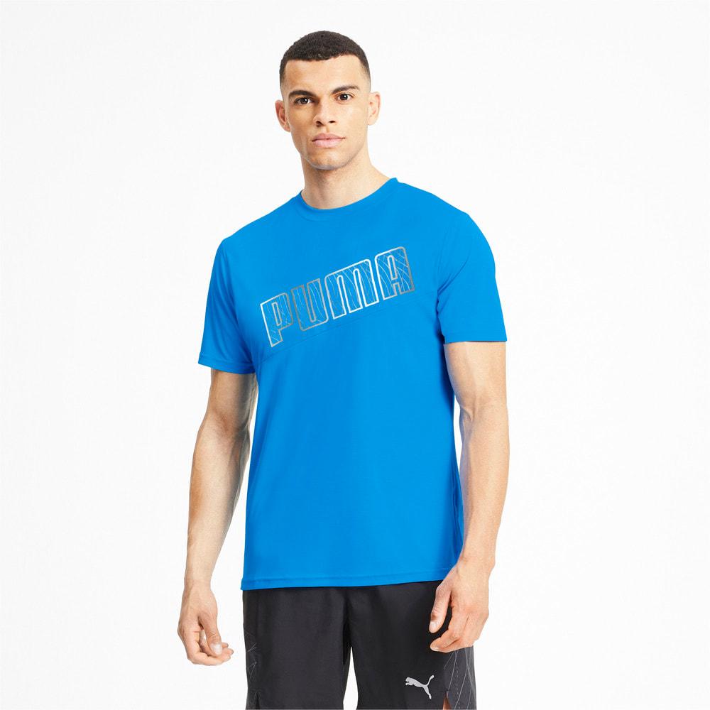 Image Puma Logo Short Sleeve Men's Running Tee #1