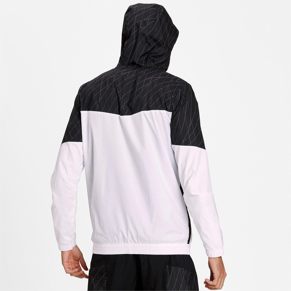 Изображение Puma Куртка Run Graphic Hooded Jacket #2