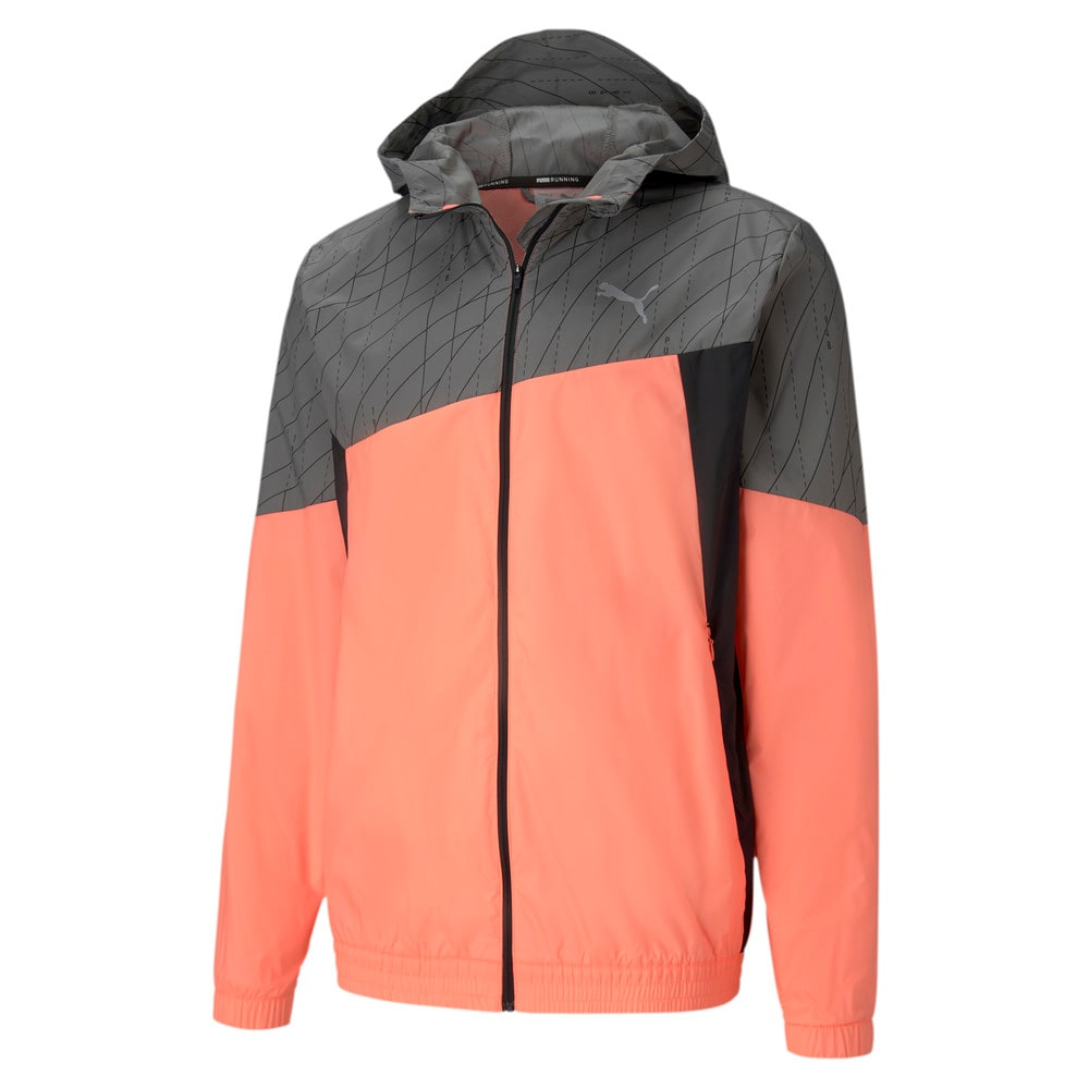 Image Puma Graphic Hooded Men's Running Jacket #1