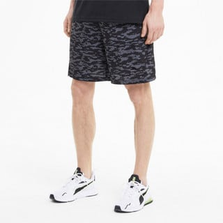 Imagen PUMA Shorts de training con estampado íntegro de 20 cm para hombre