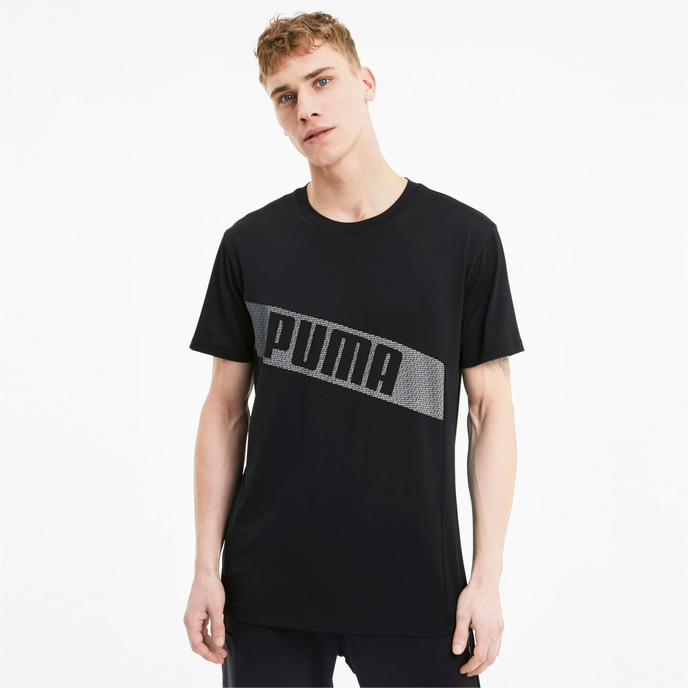 Изображение Puma Футболка Train Graphic SS Tee #1