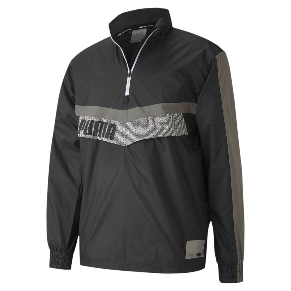 Изображение Puma Ветровка Train Woven 1/2 Zip Jacket #1