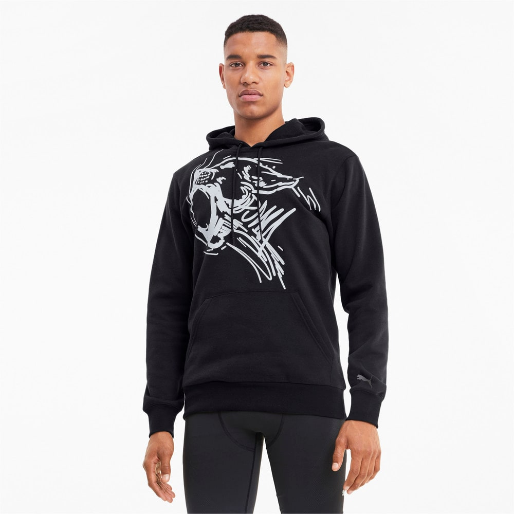 Зображення Puma Толстовка Performance Graphic Hoodie #1