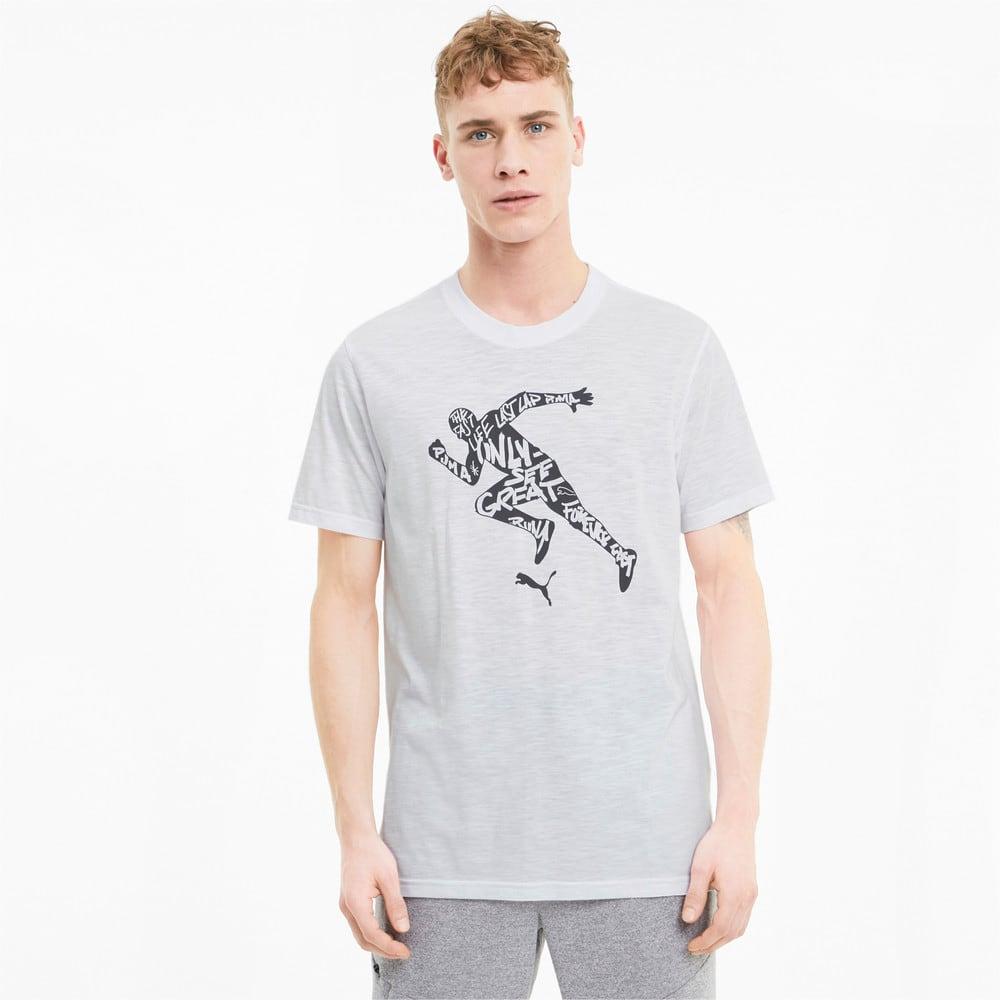 Görüntü Puma PERFORMANCE Desenli Antrenman Erkek T-Shirt #1