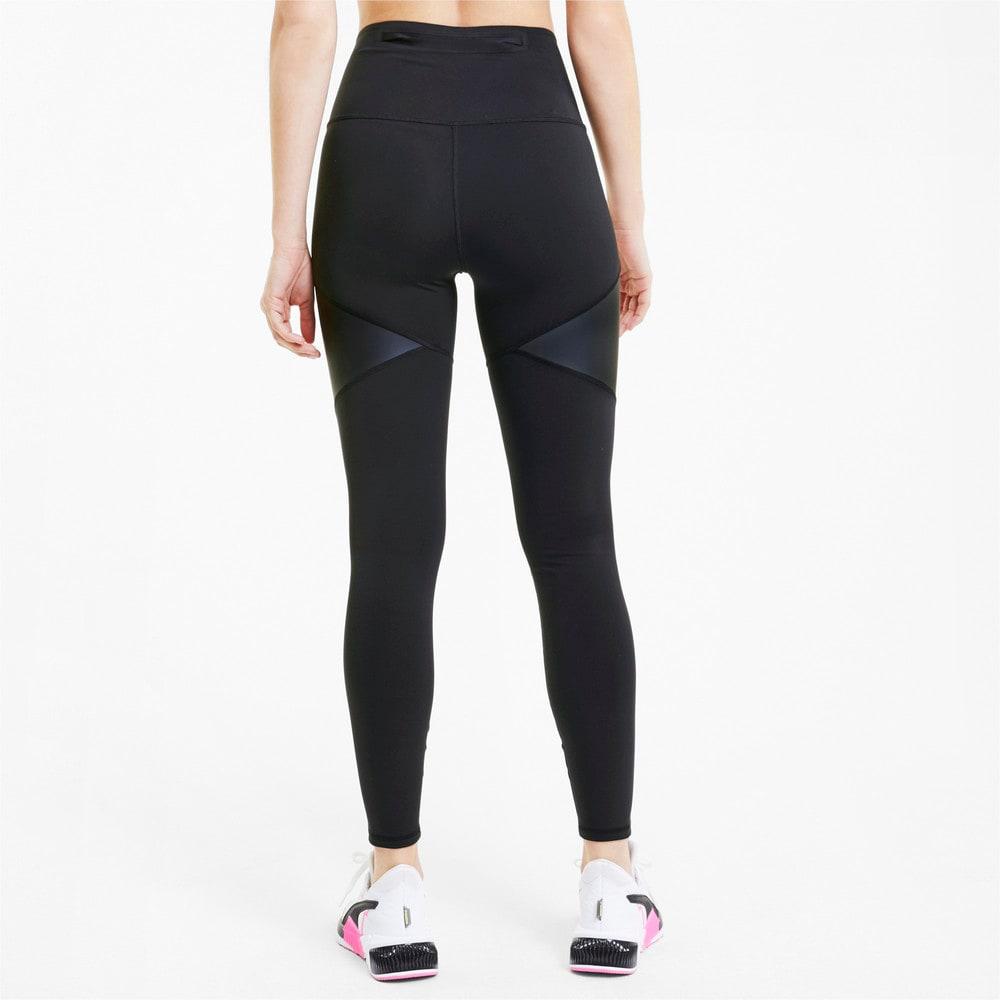 Image Puma Bonded Zip High Waist Full Length Women's Training Leggings #2