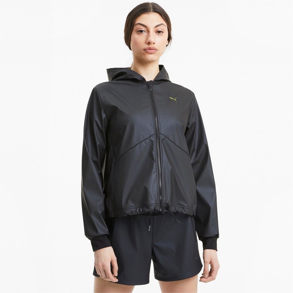 Изображение Puma Ветровка Train Warm Up Shimmer Jacket #1