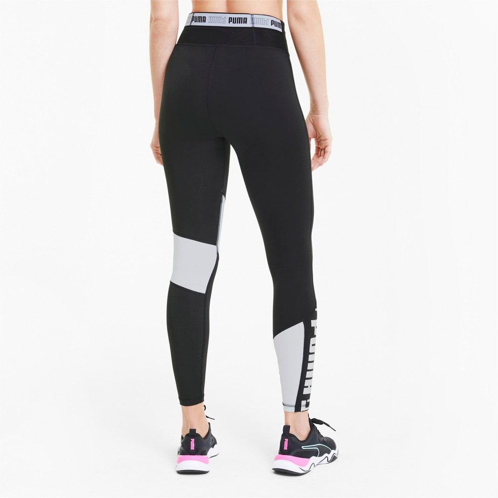 Imagen PUMA Leggings de training con cintura alta 7/8 Logo para mujer #2