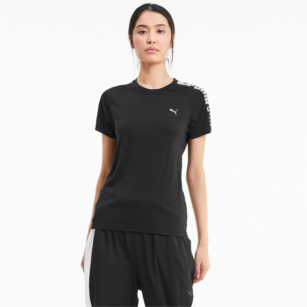 Görüntü Puma Logo Raglan Kadın Antreman T-shirt #1