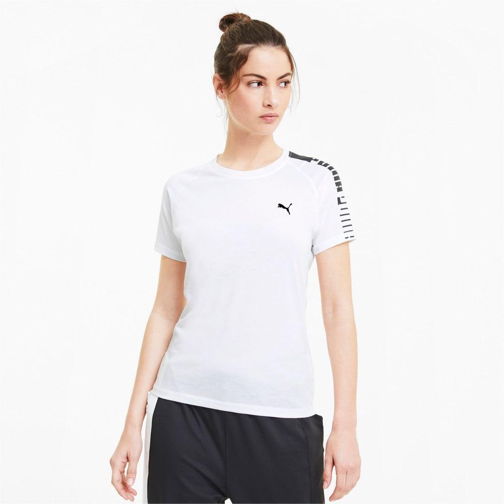 Изображение Puma Футболка Train Logo Raglan Tee #1