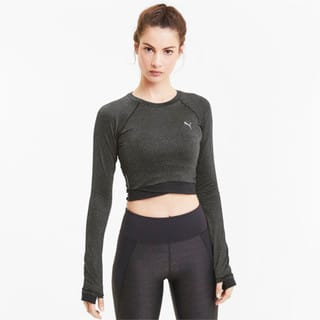 Изображение Puma Топ Studio Metallic LS Top