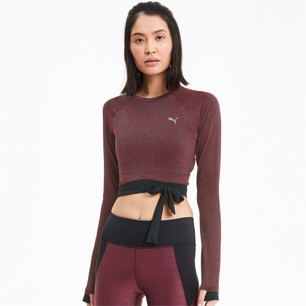 Зображення Puma Топ Studio Metallic LS Top #1
