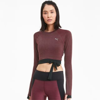 Зображення Puma Топ Studio Metallic LS Top