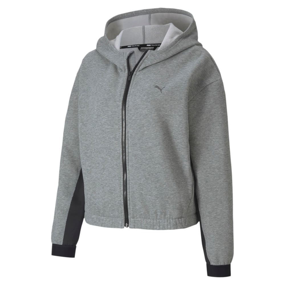 Изображение Puma Толстовка Train Fav Fleece FZ Hoodie #1