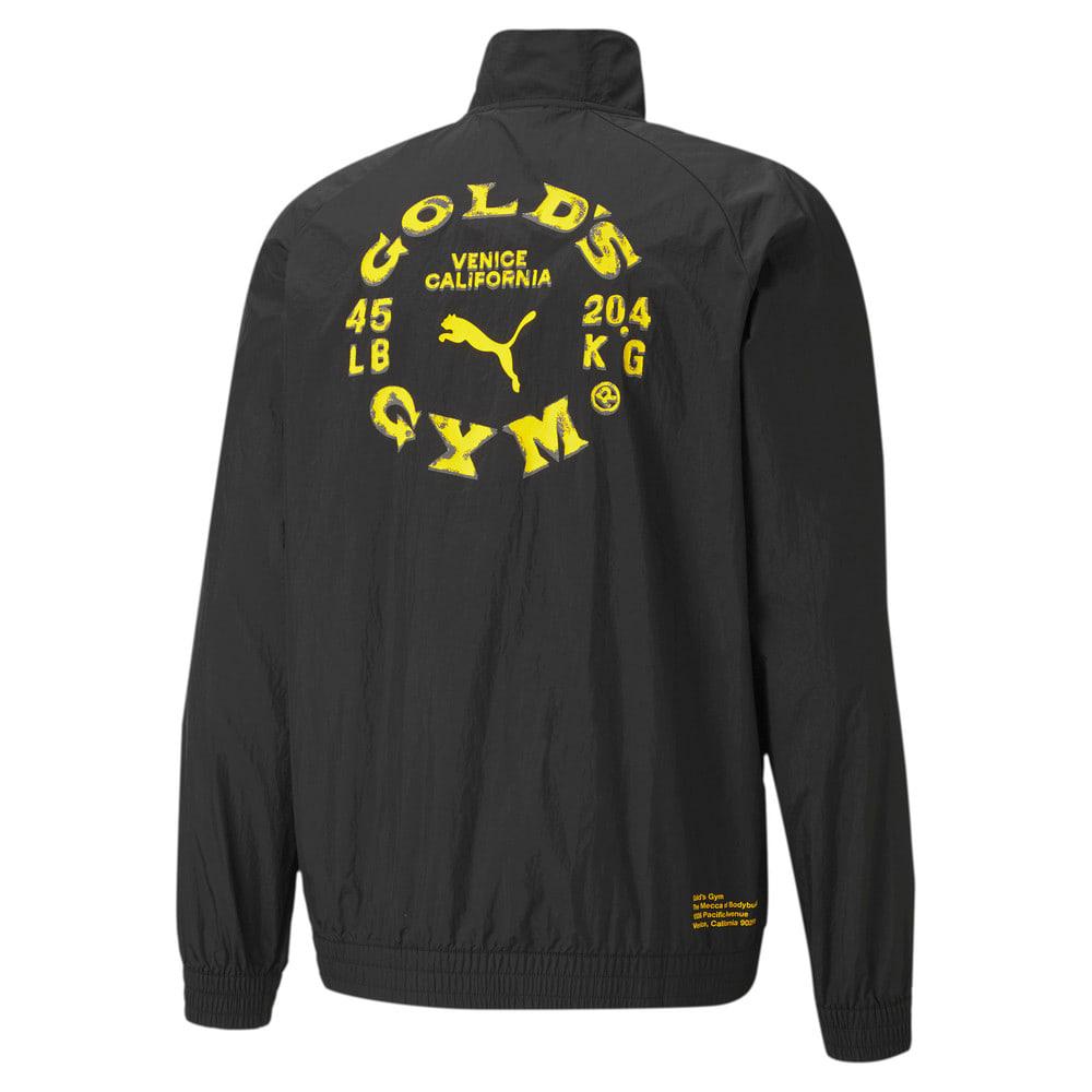 Изображение Puma Куртка PUMA x GOLD'S GYM Woven dryCELL Training Jacket #2