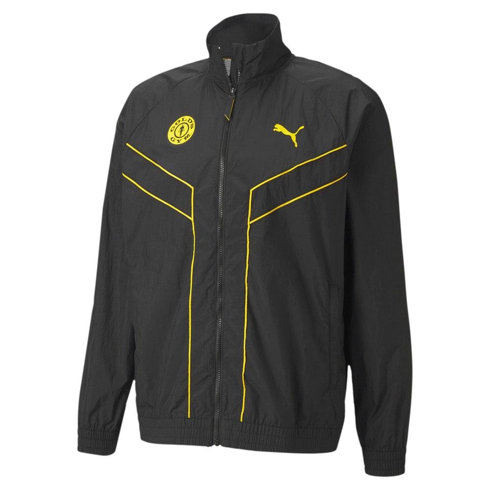 Изображение Puma Куртка PUMA x GOLD'S GYM Woven dryCELL Training Jacket #1