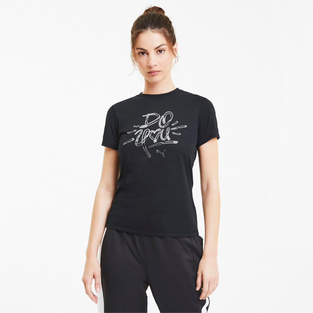 Изображение Puma Футболка Performance Slogan SS Tee #1