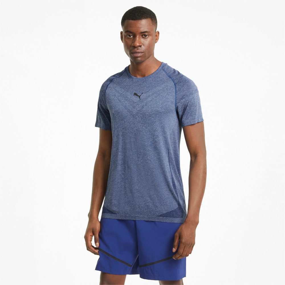 Зображення Puma Футболка evoKNIT Tech Short Sleeve Men's Training Tee #1