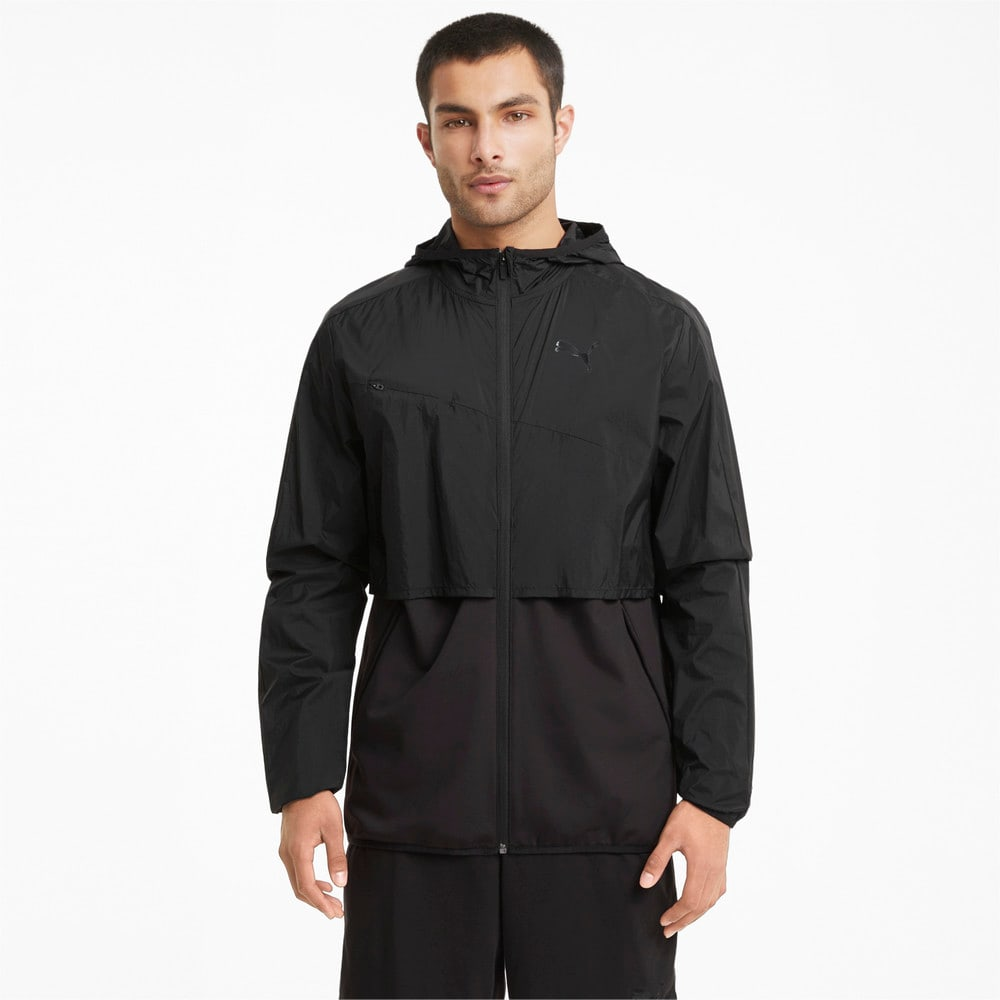 Зображення Puma Олімпійка Ultra Woven Men's Training Jacket #1