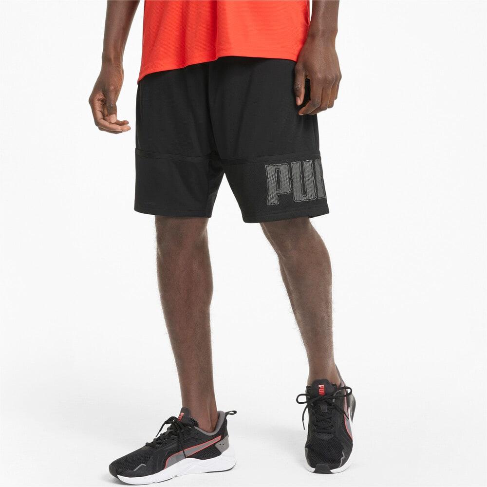 Imagen PUMA Shorts de training de tejido de punto de 25 cm para hombre Session #1