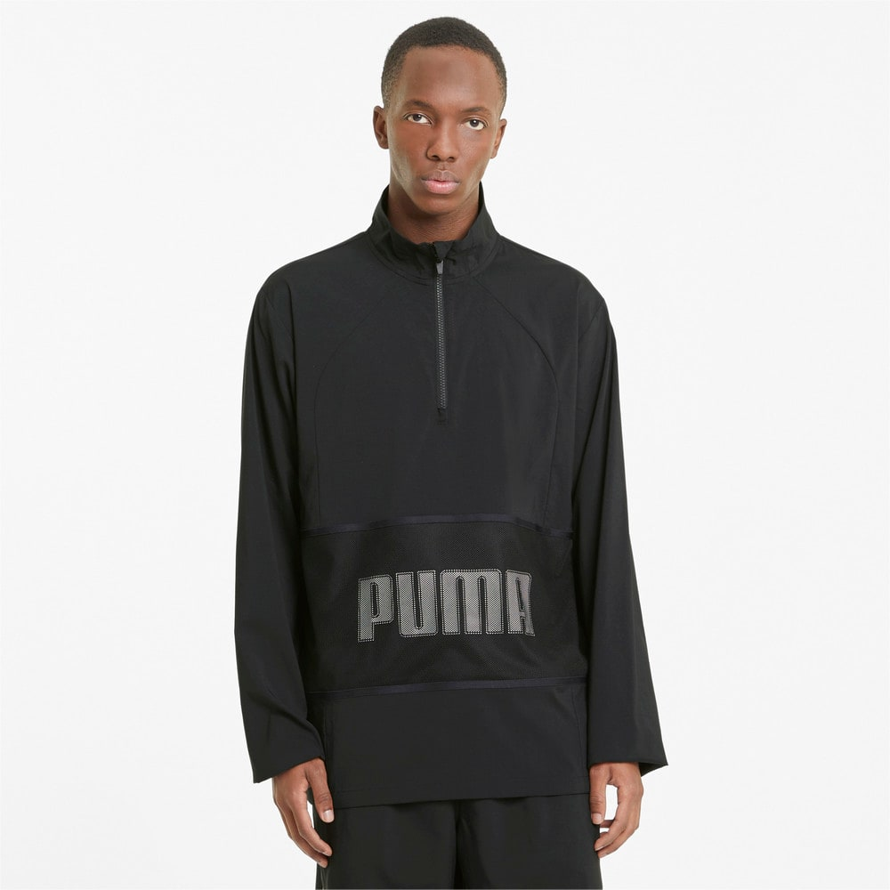 Изображение Puma Олимпийка Graphic Half-Zip Men's Training Jacket #1