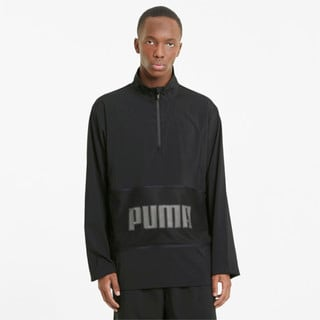 Изображение Puma Олимпийка Graphic Half-Zip Men's Training Jacket
