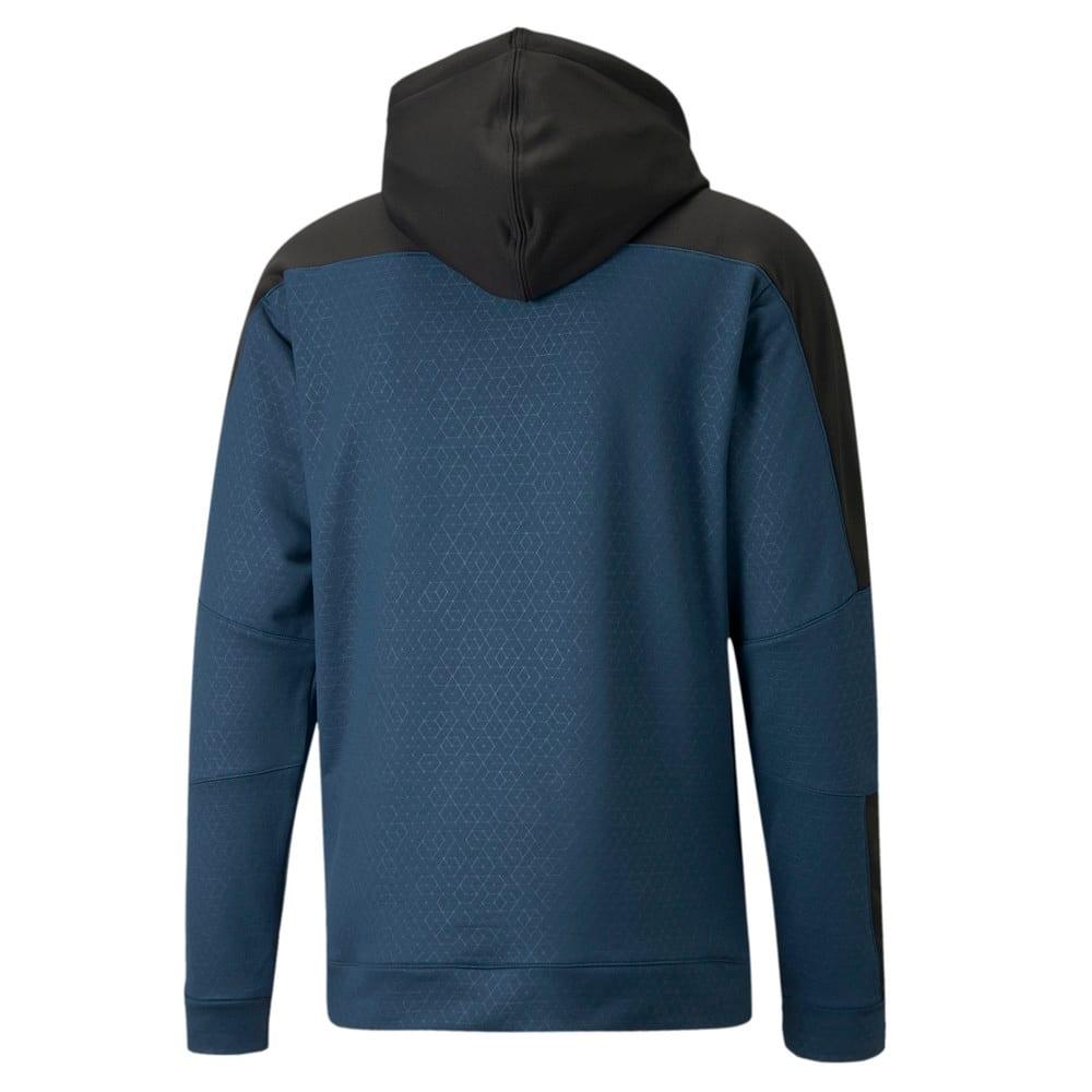 Изображение Puma Толстовка Activate Men's Training Hoodie #2: Intense Blue-Puma Black